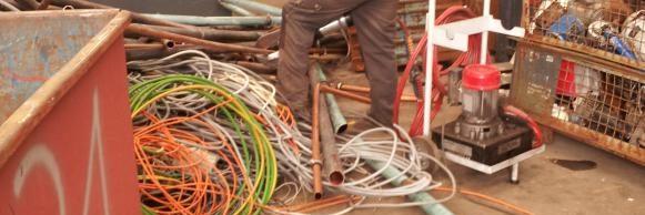 Oude metalen en metaal recyclage Debacker Frank